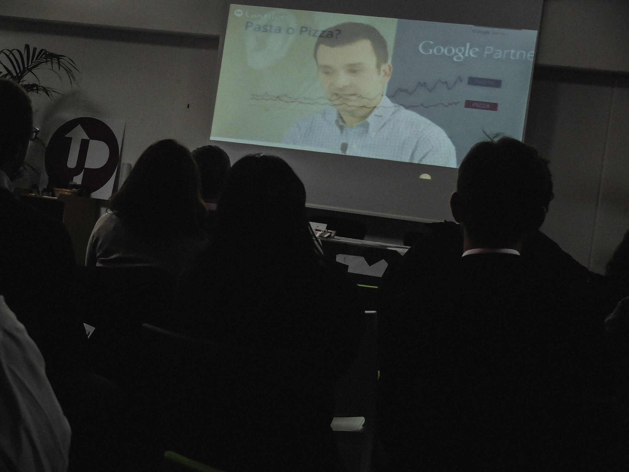 Un momento dell\'evento promosso da UPtimization e Google