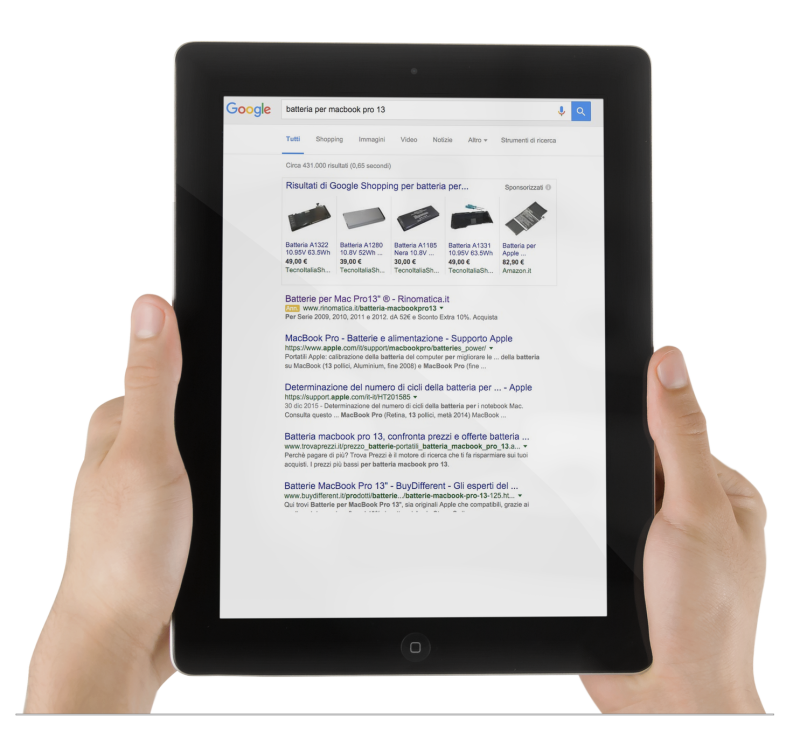 La potenzialità di una campagna Adwords gestita da un partner certificato Google