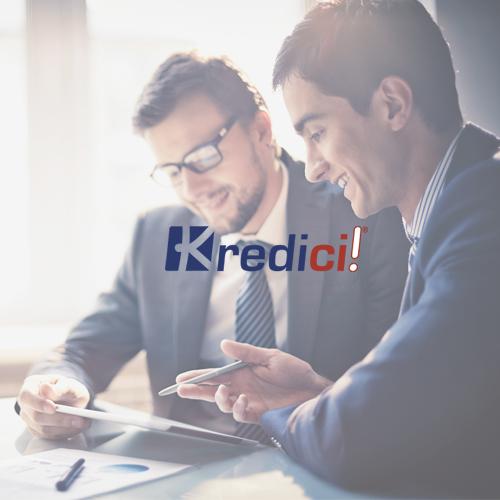 I clienti di UPtimization nel settore finanziario: Kredici