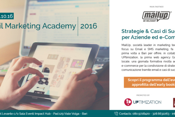 Email Marketing Academy 2016